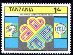 1983, Tanzanie, Communication, Emblème - Tanzanie (1964-...)