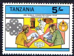 1983, Tanzanie, Communication, Poste - Tanzanie (1964-...)