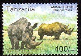 2003, Tanzanie, Rhinoceros - Tanzanie (1964-...)
