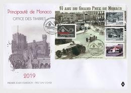 Monaco - Postfris / MNH - FDC Sheet 90 Jaar Formule 1 In Monaco 2019 - Monaco