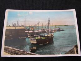 Ancienne Carte Postale Cpsm Port Louis Le Port Bateau Le René Robert - Port Louis