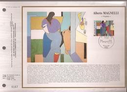 Francia, Obliterations,1986, Alberto Magenelli, Virginia - Preobliterados