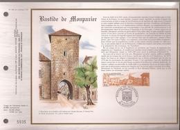 Francia, Obliterations,1986, Bastide De Monpazier - Preobliterados