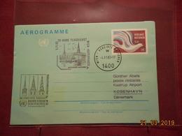 Entier Postal Des Nations Unies( Vienne) De 1983 - Wien - Internationales Zentrum
