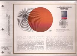 Francia, Obliterations,1986, Conference Mondiale De L'Energie - Preobliterados