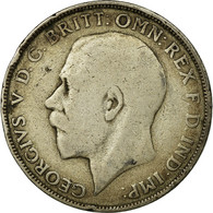 Monnaie, Grande-Bretagne, George V, Florin, Two Shillings, 1922, TB, Argent - J. 1 Florin / 2 Shillings