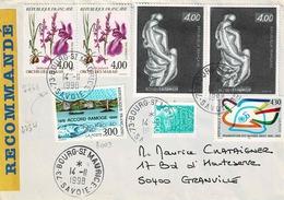 Entre TP N° 2234 Et 3003 Sur Enveloppe En Recommandé De Bourg St Maurice - 1961-....