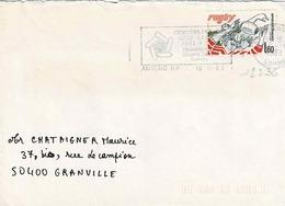 TP N° 2236 Seul  Sur Enveloppe De Amiens - Marcophilie (Lettres)