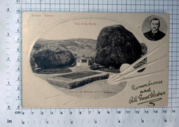 Rhodesia / Equivalent In Territory To Modern Zimbabwe, Remains Of Cecil Rhodes / Vintage Postcard - (APAT3-17) - Zimbabwe