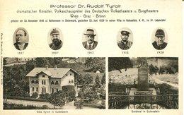 007453  Gutenstein - Professor Dr. Rudolf Tyrolt Mit 2 Ansichten  1933 - Gutenstein