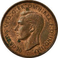 Monnaie, Grande-Bretagne, George VI, Farthing, 1940, TTB, Bronze, KM:843 - 1902-1971 : Post-Victorian Coins