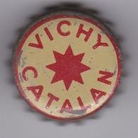 ANTIGUA CHAPA DE VICHY CATALAN CON CORCHO - Soda