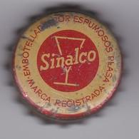 ANTIGUA CHAPA DE BEBIDA SINALCO CON CORCHO - Soda