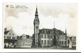 CPA - Carte Postale-Belgique- Lier- Hotel De Ville Et Beffroi - VM1598 - Lier
