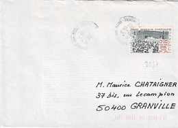 TP N° 2237 Seul  Sur Enveloppe De Chennevieres - Marcophilie (Lettres)
