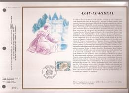 Francia, Obliterations,1987, Azay-le-rideau - Preobliterados