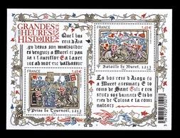 YV F4828 YV 4828 & 4829 N** Grandes Heures De L'histoire II - Prix = Faciale - France