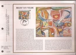 Francia, Obliterations,1987, Bram Van Velde - Preobliterados