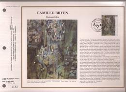 Francia, Obliterations,1987, Camille Bryen - Preobliterados