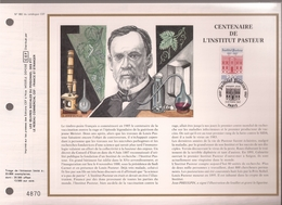 Francia, Obliterations,1987, Centenaire De L'Institut Pasteur - Preobliterados