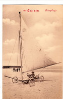 "De Haan - Le Coq, Aeroplage, BRIEFSTEMPEL "" Kaiserliche Marine, 2 Abt. II. Matrosen Regiment "" - De Haan"