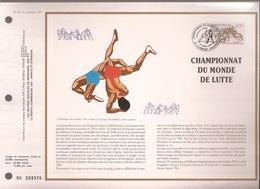 Francia, Obliterations,1987, Championnat Du Monde De Lutte - Preobliterados