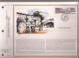 Francia, Obliterations,1987, Cotes De Meuse - Preobliterados