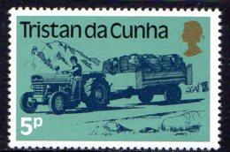 1983, Tristan Da Cunha, Tracteur, Transport - Tristan Da Cunha