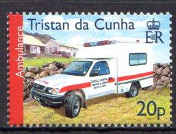 2007, Tristan Da Cunha, Ambulance, Toyota - Tristan Da Cunha