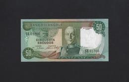PORTUGAL ANGOLA 50 ESCUDOS 1972 P-100 UNC - Angola