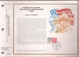 Francia, Obliterations,1987, Entree En Guerre Des Forces Americaines - Preobliterados