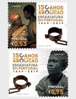 Portugal - Postfris / MNH - Complete Set 150 Jaar Afschaffing Slavernij 2019 - 1910-... Republiek
