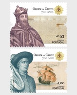 Portugal - Postfris / MNH - Complete Set 700 Jaar Order Of The Christ 2019 - 1910-... Republiek