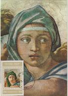 Carte-Maximum ALBANIE N° Yvert 1587 (MICHEL ANGE) Obl Sp 1er Jour - Albanie