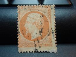 Timbres  . Napoléon III Empire Franc 40 C Oblitéré Amincis - 1862 Napoléon III