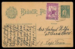 PORTUGAL-MOZAMBIQUE. 1942 (1 Aug). L Marques - South Africa. 1c Ceres Stat Env + Adtls. VF. - Portugal