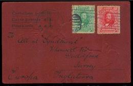 HONDURAS. 1906 (4 Dec). Tegucigalpa - UK. Fkd Art Novean PPC. Fine. - Honduras