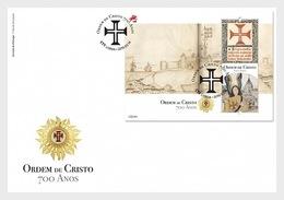 Portugal - Postfris / MNH - FDC Sheet 700 Jaar Order Of The Christ 2019 - 1910-... Republiek