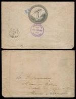 NICARAGUA. 1889 (28 Nov). Managua / Corinto - Germany. Direccion General De Telegrafos. Oficial Ilustrated Env. Very Sca - Nicaragua