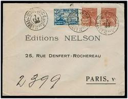 Brazil - XX. 1928. Alagoas - France. Reg Multifkd Env. VF. - Brésil