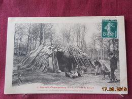 CPA - Draveil-Champrosay - Forêt De Sénart - Cabane De Bûcherons Près Du Carrefour De L'Ermitage - Draveil