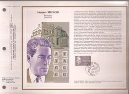 Francia, Obliterations,1987, Jaques Monod - Preobliterados