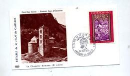 Lettre Fdc 1970 Retable Saint Jean Publicite Medicale - FDC