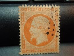 Timbre  Empire Franc 40 C. Napoléon III, Oblitéré - 1862 Napoléon III