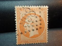 Timbre  Empire Franc 40 C. Napoléon III - 1862 Napoleon III