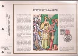 Francia, Obliterations,1987, Montbenoit-le Saugeais - Preobliterados
