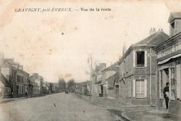 GRAVIGNY Près D' EVREUX - Vue De La Route - Other Municipalities
