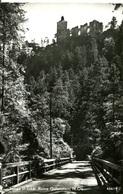 007465  Lange Brücke, Ruine Gutenstein  1966 - Gutenstein