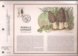 Francia, Obliterations,1987, Morille Conique (SETAS) - Preobliterados