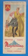 50 - Granville- BUVARD ILLUSTRÉ- BISCOTTES ET TOATS MAGDELEINE - POITOU - POITEVINE - Biscottes